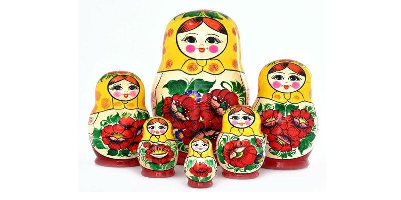 История русской игрушки